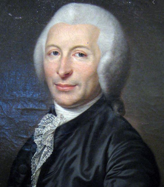 Portrait painting of Dr Joseph-Ignace Guillotin